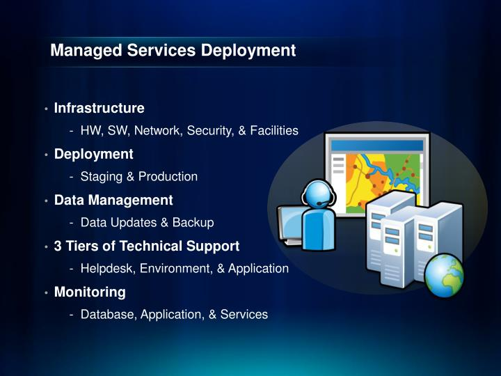 Managed Services Deployment
