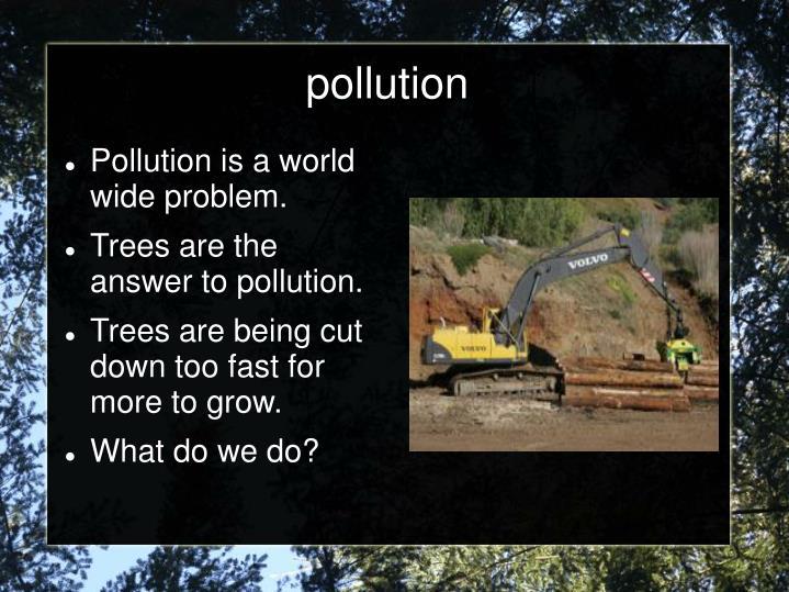 pollution n.