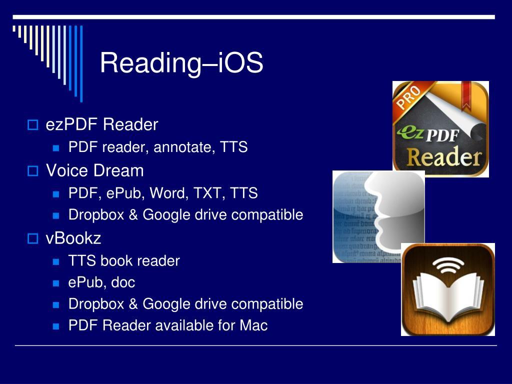 PPT - Alternate Media for E-Book Readers PowerPoint Presentation
