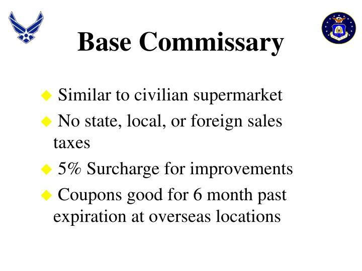 Base Commissary