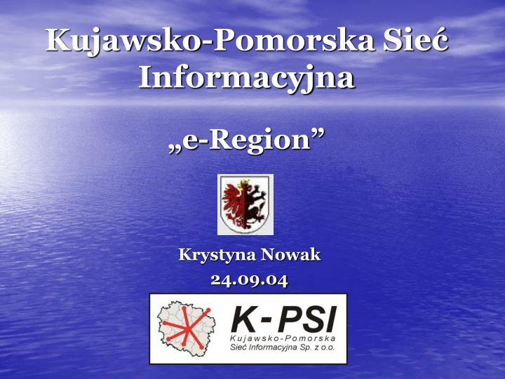 kujawsko pomorska sie informacyjna e region