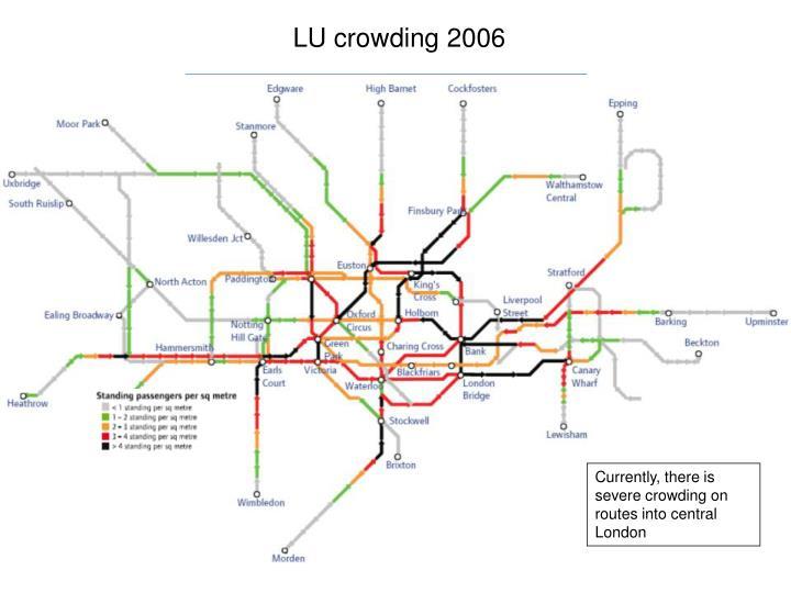 LU crowding 2006