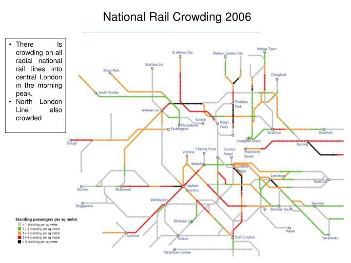 National Rail Crowding 2006