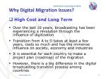 why digital migration issues