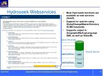 hydroseek webservices