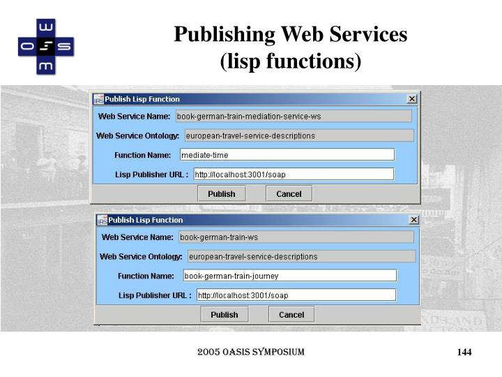 Publishing Web Services