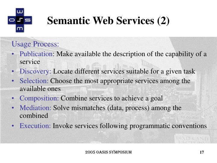 Semantic Web Services (2)