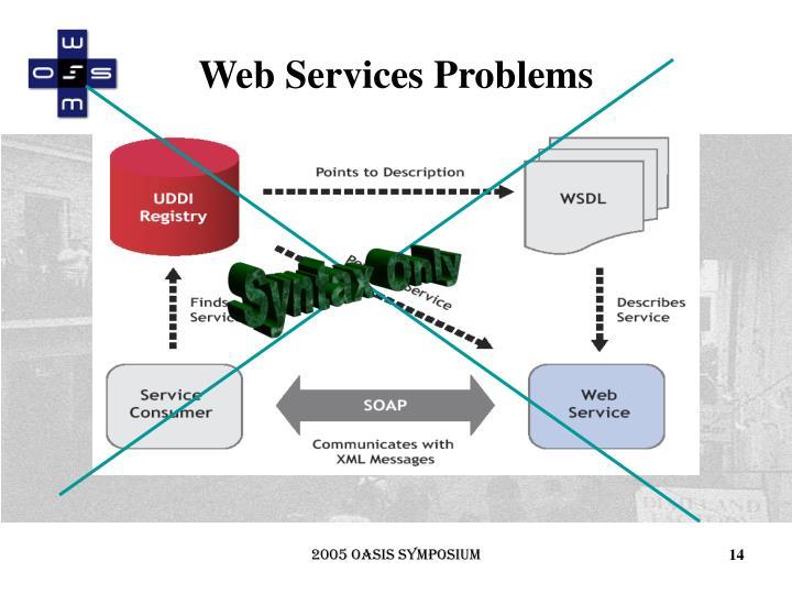 Web Services Problems
