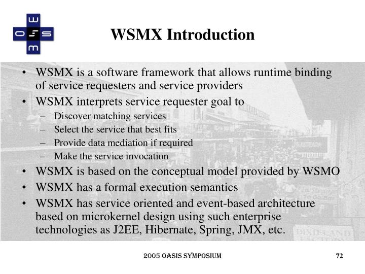 WSMX Introduction
