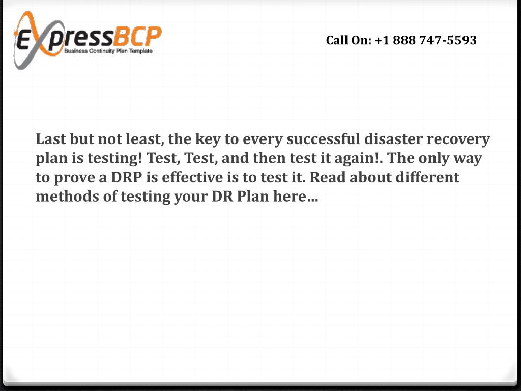 Ppt What Makes A Good Disaster Recovery Plan Template Powerpoint Presentation Id 3393929