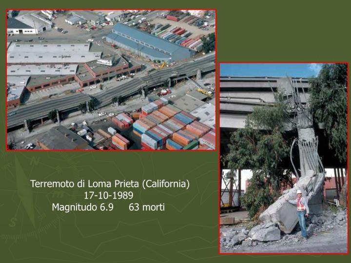 Terremoto di Loma Prieta (California)