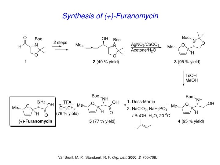 Synthesis of (+)-Furanomycin