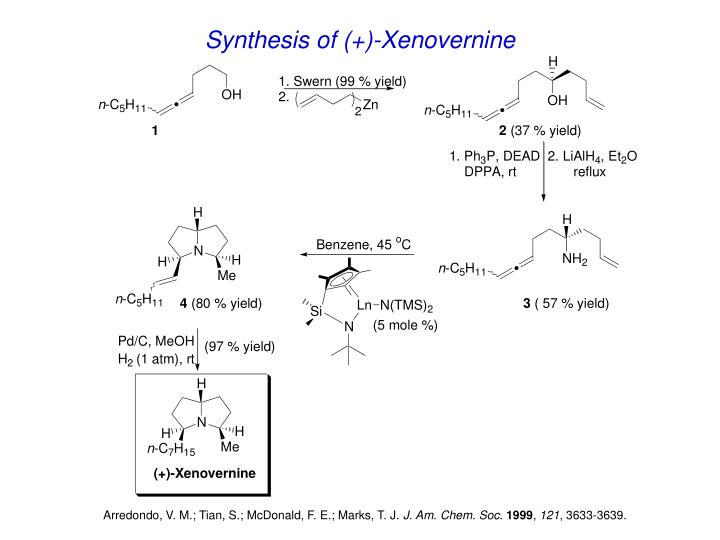 Synthesis of (+)-Xenovernine