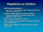 repellents on children