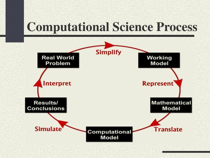 Computational Science Process