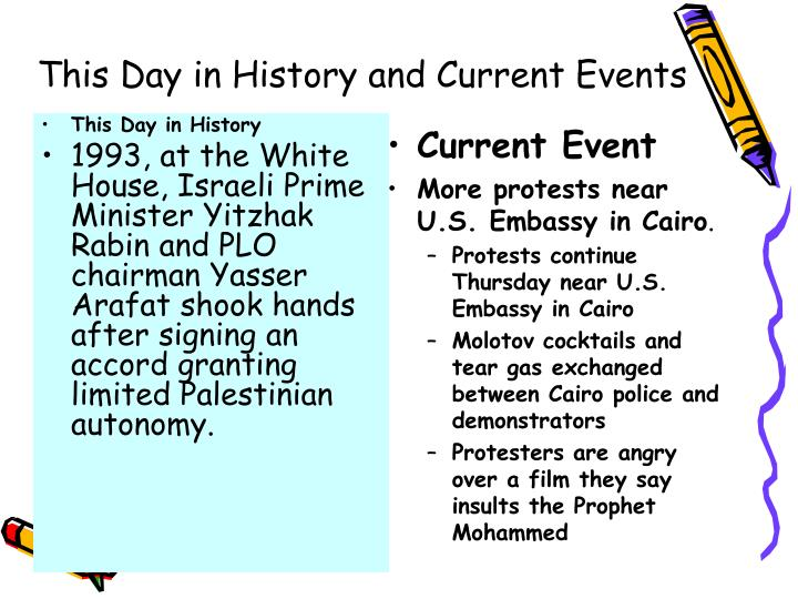 This day in history and current events