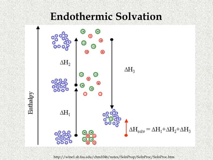 Endothermic Solvation