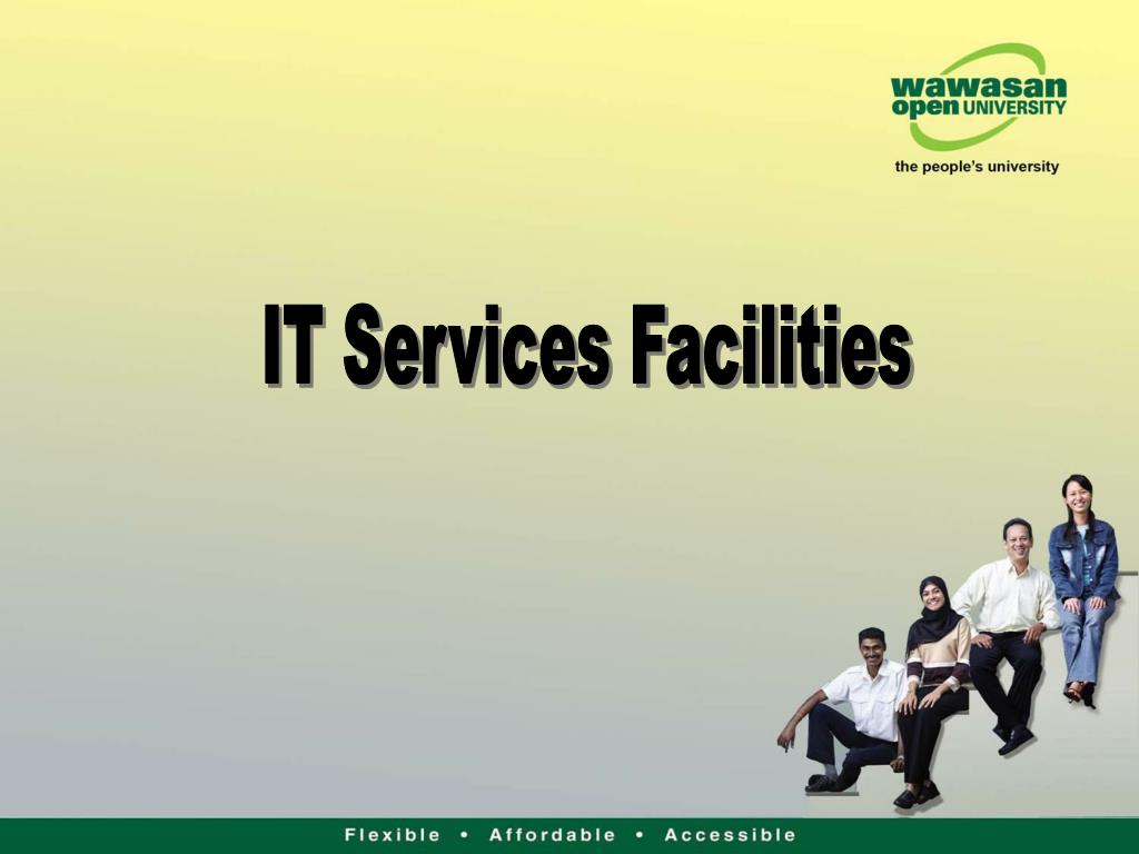 83b4b4b8a486 PPT - IT Services Facilities PowerPoint Presentation - ID 3394423