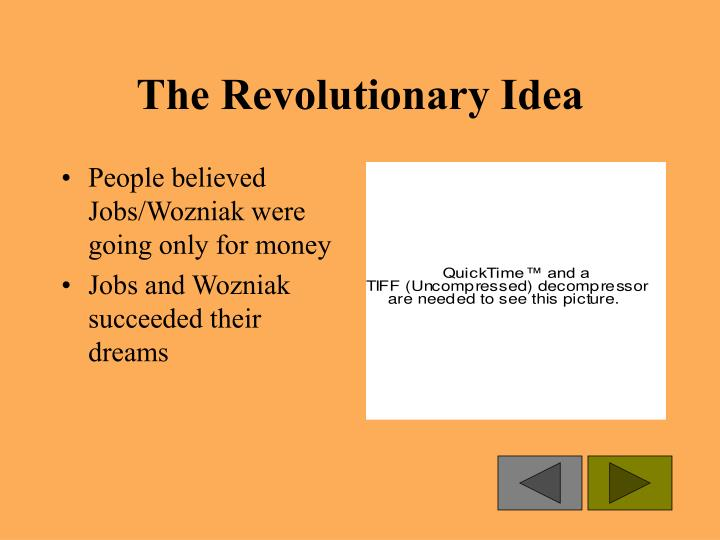The Revolutionary Idea