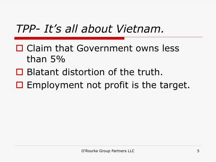 TPP- It's all about Vietnam.