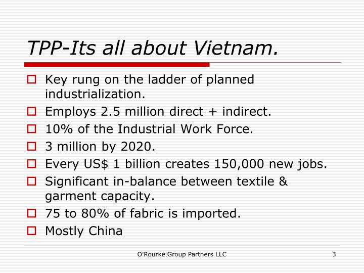 Tpp its all about vietnam