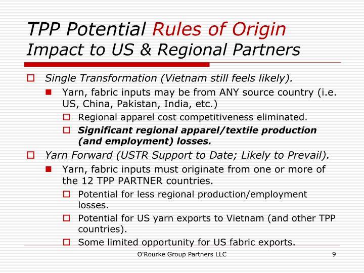 TPP Potential