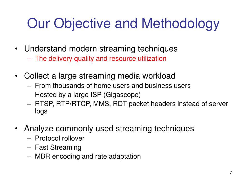 PPT - Internet Streaming Media Delivery: PowerPoint Presentation