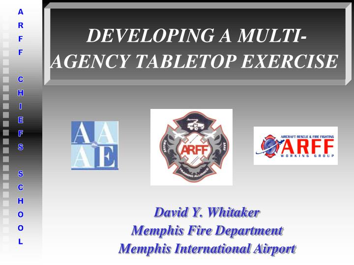 developing a multi agency tabletop exercise n.