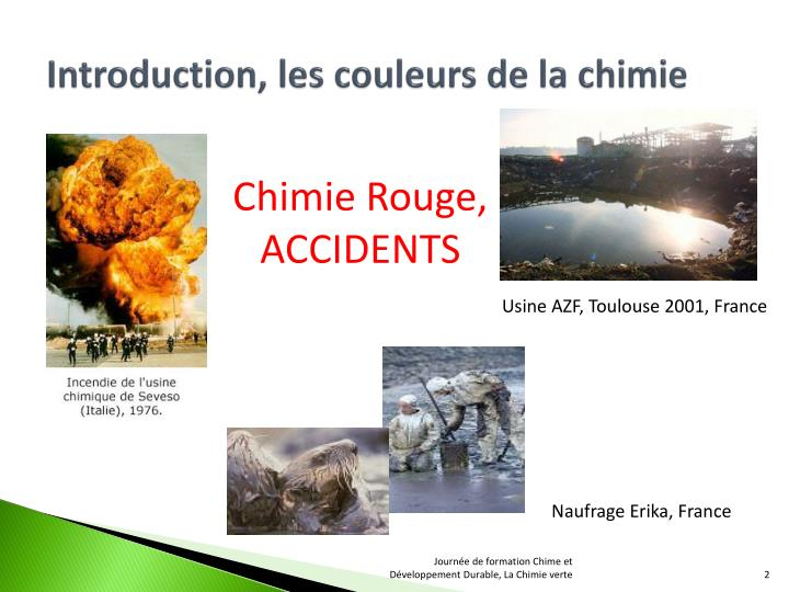 Introduction les couleurs de la chimie