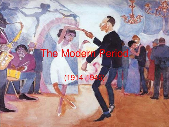 the modern period n.
