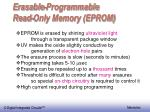 erasable programmable read only memory eprom