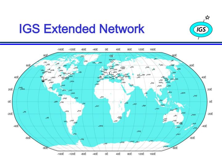 IGS Extended Network