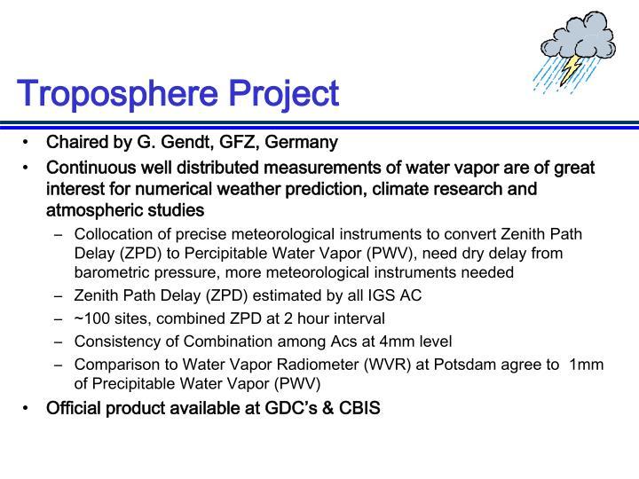 Troposphere Project
