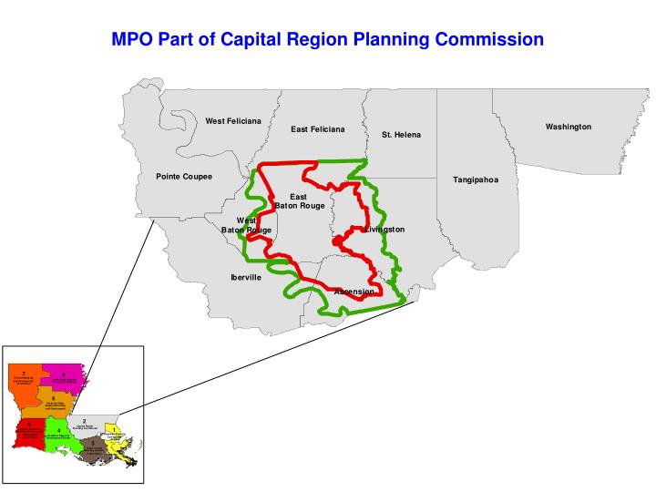 MPO Part of Capital Region Planning Commission