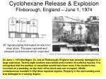 cyclohexane release explosion flixborough england june 1 1974