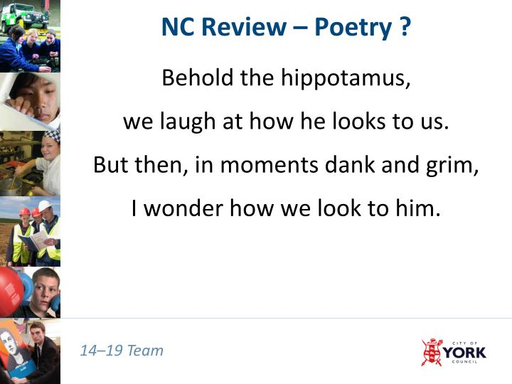 Nc review poetry