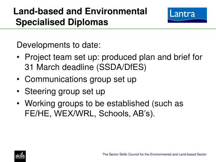 Land-based and Environmental