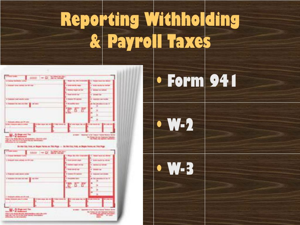 PPT - Payroll Accounting, Taxes, and Reports PowerPoint ...