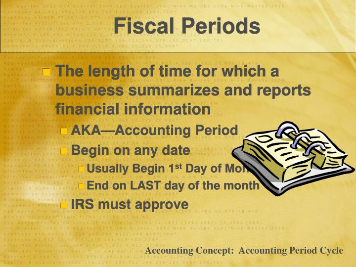 Fiscal Periods
