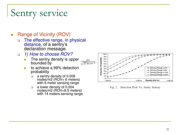Sentry service