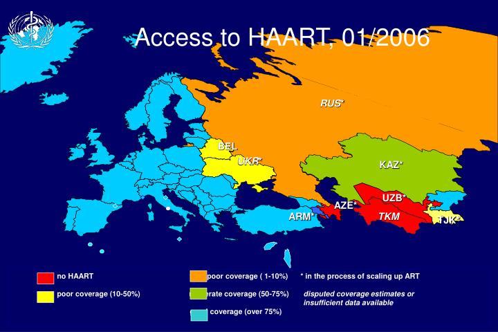 Access to HAART, 01/2006