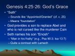 genesis 4 25 26 god s grace