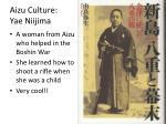 aizu culture yae niijima