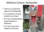 mishima culture kashaneko