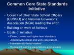 common core state standards initiative1