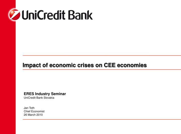 impact of economic crises on cee economies n.