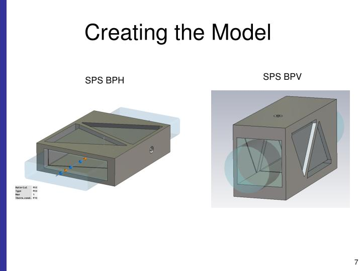 Creating the Model