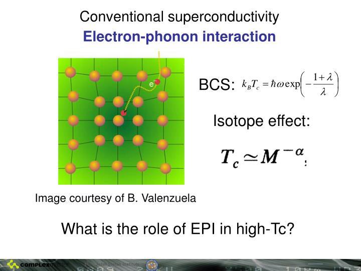 Conventional superconductivity