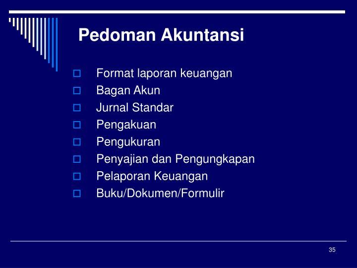 Pedoman Akuntansi