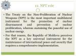 12 npt role